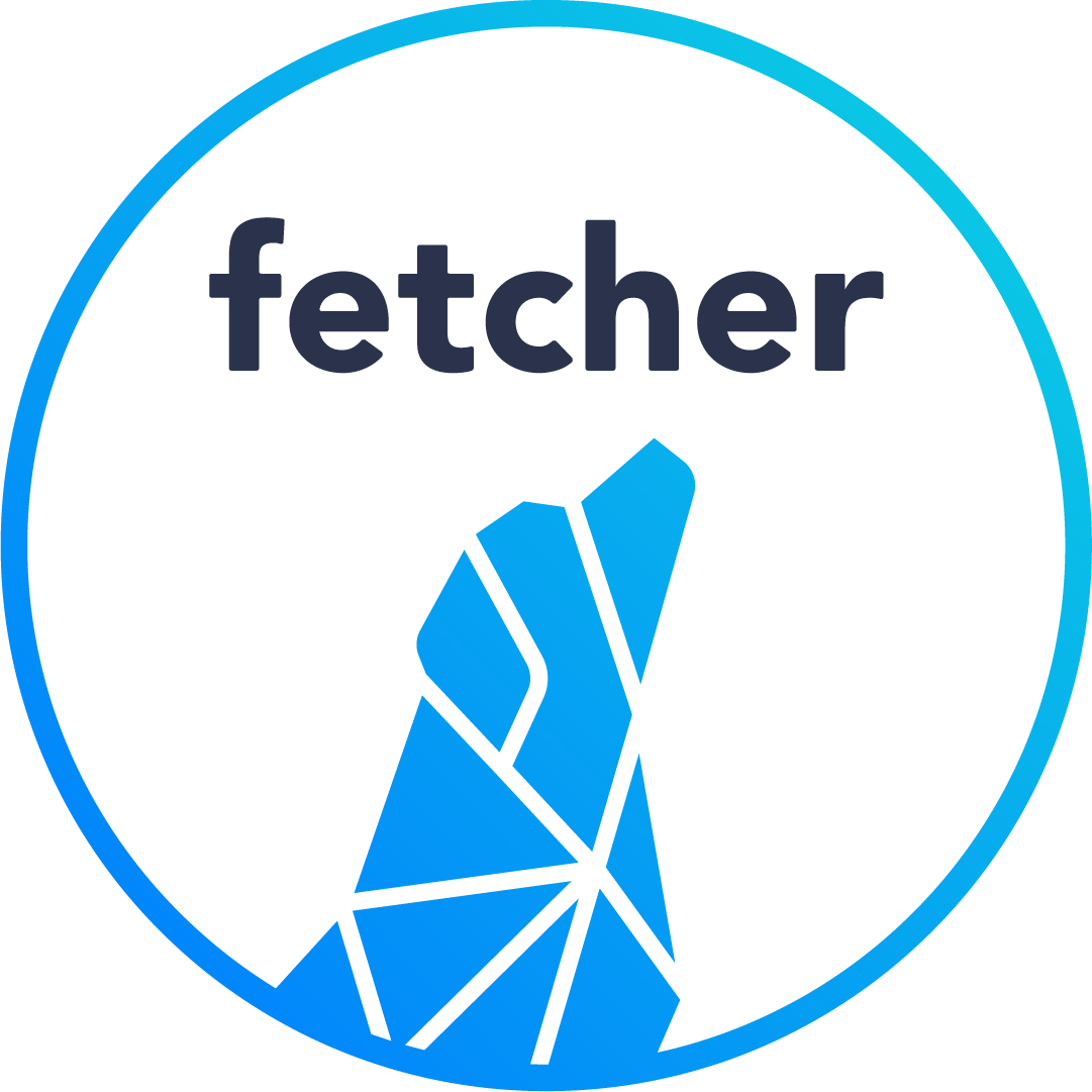 Fetcher Secondary Color Logo